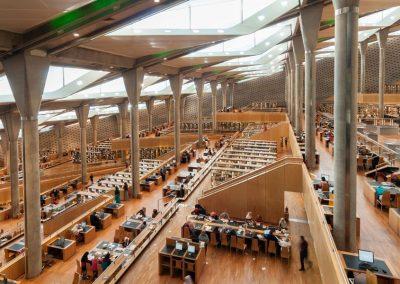 Bibliotheca, Alexandrina, Egypt